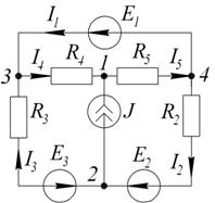 метод узловых потенциалов решенные задачи