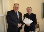 Андрей Витальевич Васильев, директор ИХиИЭ и Александр Владимирович Винокуров, лектор